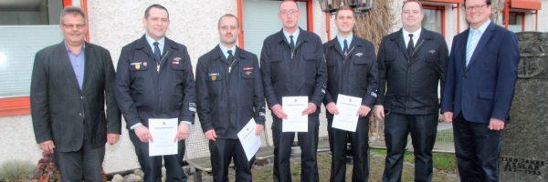 Ernennung der Wehrführungen Aßlar und Werdorf