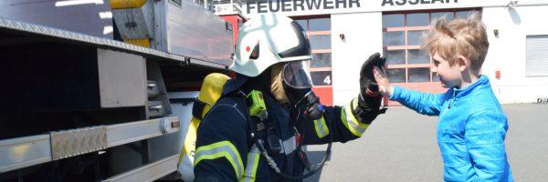 """""""Saisonstart"""" bei der Brandschutzerziehung"""